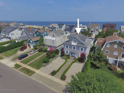 Sea Girt Single Family Home For Sale: 808 1st Avenue