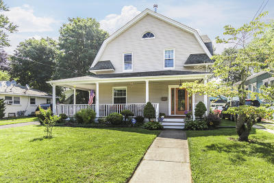 Long Branch Single Family Home For Sale: 234 Vanderveer Place