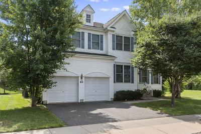 Manalapan Single Family Home For Sale: 63 Springhouse Circle