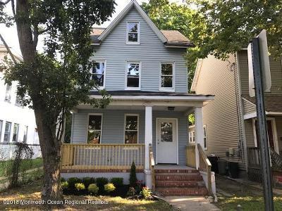 Asbury Park Single Family Home For Sale: 1011 Mattison Avenue