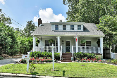 Avon-by-the-sea, Belmar, Bradley Beach, Brielle, Manasquan, Spring Lake, Spring Lake Heights Single Family Home For Sale: 2575 Crestview Road