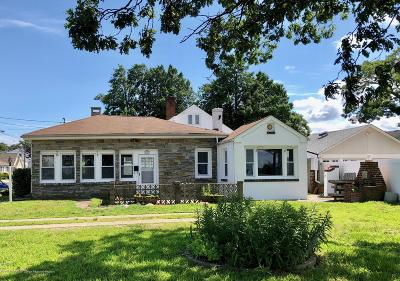 Belmar Single Family Home Under Contract: 1601 River Road