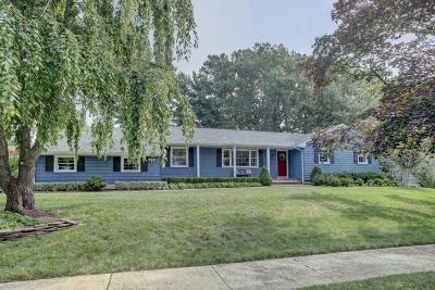 Long Branch, Monmouth Beach, Oceanport Single Family Home For Sale: 37 Burntmill Circle