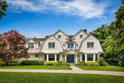 Rumson Single Family Home For Sale: 18 N Ward Avenue