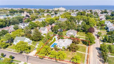 Avon-by-the-sea, Belmar, Bradley Beach, Brielle, Manasquan, Spring Lake, Spring Lake Heights Single Family Home For Sale: 314 Atlantic Avenue