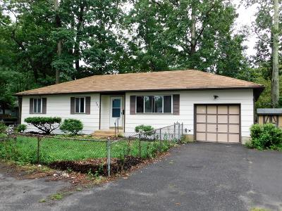 Browns Mills NJ Single Family Home For Sale: $139,900