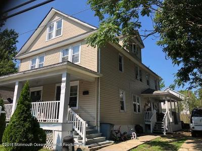 Asbury Park Multi Family Home For Sale: 1309 Comstock Street