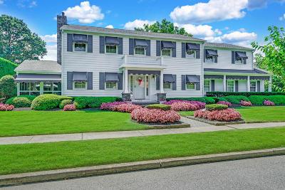 Avon-by-the-sea, Belmar, Bradley Beach, Brielle, Manasquan, Spring Lake, Spring Lake Heights Single Family Home For Sale: 2225 1st Avenue