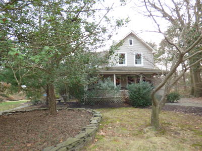 Wall Single Family Home For Sale: 1901 Wall Church Road