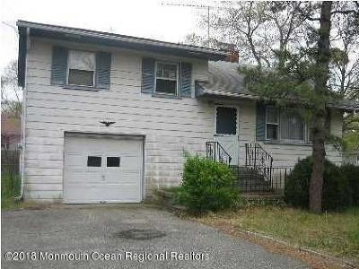 Brick NJ Single Family Home For Sale: $178,999