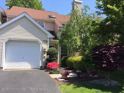 Freehold Condo/Townhouse For Sale: 173 Daffodil Drive