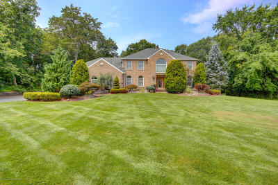 Freehold Single Family Home For Sale: 400 Jackson Mills Road