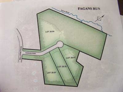 Jackson Residential Lots & Land For Sale: Fagans Run