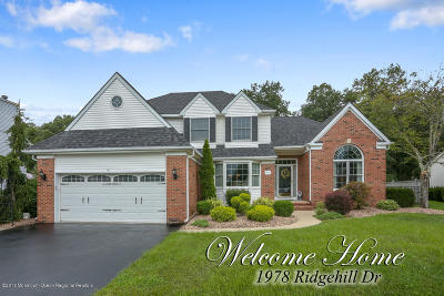 Toms River Single Family Home For Sale: 1978 Ridge Hill Drive
