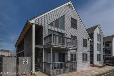 Seaside Heights Condo/Townhouse For Sale: 42 Hamilton Avenue #C10