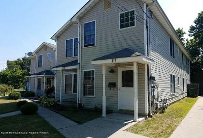 Neptune City, Neptune Township Condo/Townhouse For Sale: 109 Whitesville Road #3