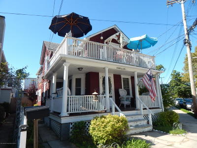 Ocean Grove Multi Family Home Under Contract: 84 Asbury Avenue