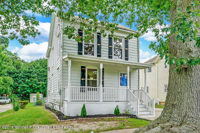 Freehold Single Family Home Under Contract: 67 Manalapan Avenue
