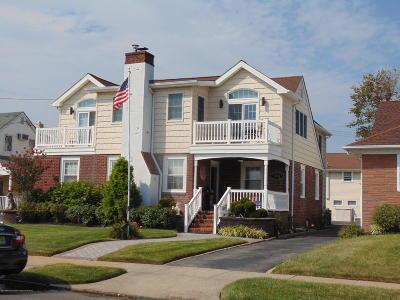 Bradley Beach Single Family Home For Sale: 204 Evergreen Avenue