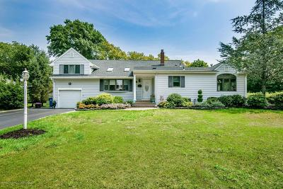 Holmdel NJ Single Family Home For Sale: $595,000