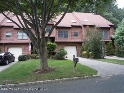 Atlantic Highlands Condo/Townhouse For Sale: 69 Pape Drive