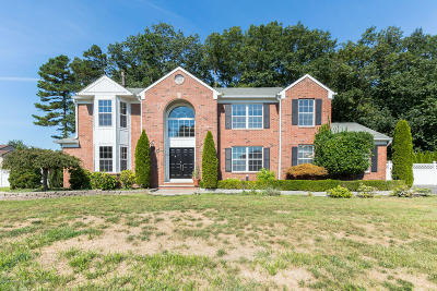 Howell Single Family Home For Sale: 166 Friendship Road