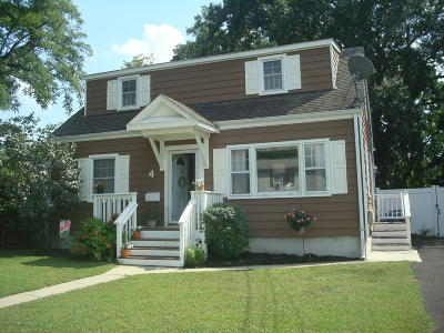 Hazlet Single Family Home For Sale: 4 Fifth Street
