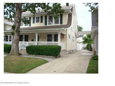 Bradley Beach Single Family Home For Sale: 412 4th Avenue