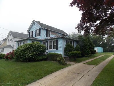 Long Branch Single Family Home Under Contract: 215 Coleman Avenue