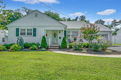 West Long Branch Single Family Home Under Contract: 36 Delaware Avenue