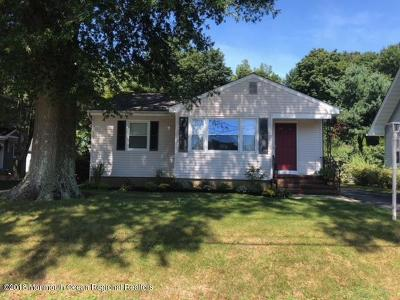 Little Silver Single Family Home For Sale: 19 Woodbine Avenue