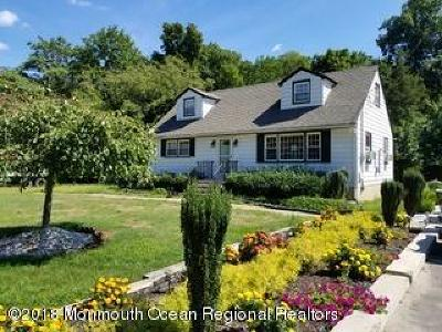 Monroe Single Family Home For Sale: 589 Englishtown Road