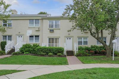 Long Branch Condo/Townhouse For Sale: 31 Cedar Avenue #34