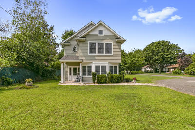 West Long Branch Single Family Home For Sale: 41 Brookwillow Avenue