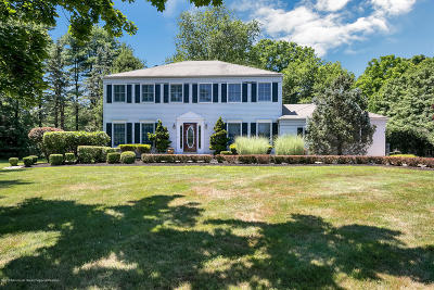 Colts Neck Single Family Home For Sale: 4 Tory Court