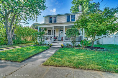 Point Pleasant Single Family Home For Sale: 1120 Front Street