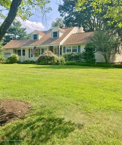 Freehold NJ Single Family Home For Sale: $459,900