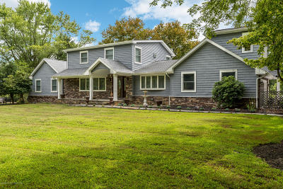 Colts Neck Single Family Home For Sale: 8 Meadowview Drive