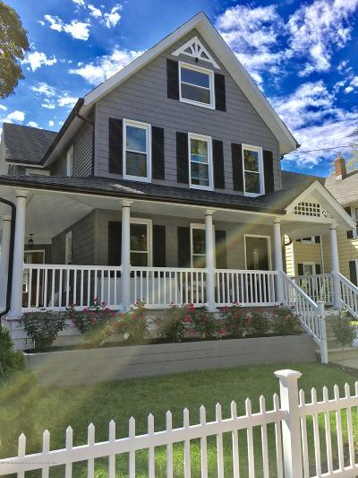 Asbury Park Single Family Home Under Contract: 1026 Summerfield Avenue