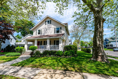 Spring Lake Single Family Home For Sale: 500 Ludlow Avenue