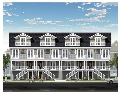 Long Branch Condo/Townhouse For Sale: 78 B Ocean Terr