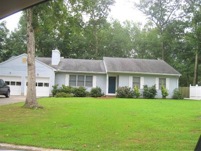 Manchester Single Family Home For Sale: 2512 Huckleberry Road