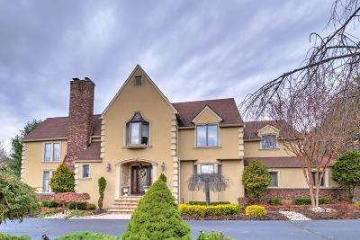 Manalapan Single Family Home For Sale: 159 Thompson Grove Road