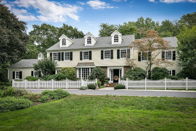Rumson Single Family Home For Sale: 9 Somerset Drive