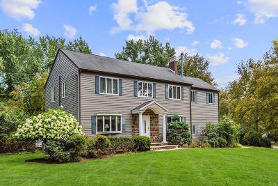 Holmdel Single Family Home Under Contract: 1 Duncan Drive