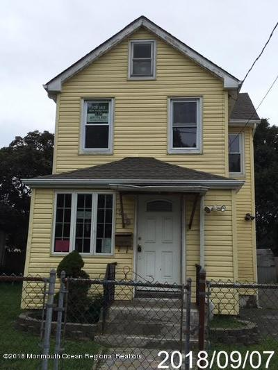 Long Branch Single Family Home For Sale: 236 Joline Avenue