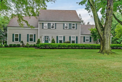 Colts Neck Single Family Home For Sale: 10 Normandy Place