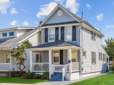 Avon-by-the-sea, Belmar, Bradley Beach, Brielle, Manasquan, Spring Lake, Spring Lake Heights Single Family Home For Sale: 219 15th Avenue