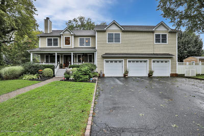 Long Branch, Monmouth Beach, Oceanport Single Family Home For Sale: 57 Werah Place
