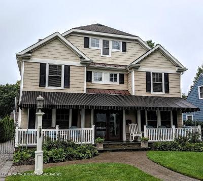 Sea Girt Single Family Home For Sale: 602 Brooklyn Boulevard